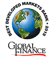 Logo de Global Finance